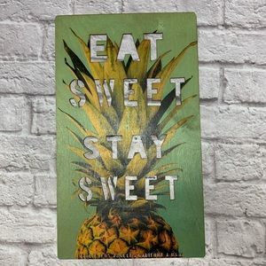 Other - Pineapple Homemade Sign